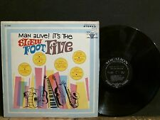 SLEW FOOT FIVE  Man Alive! It's The . . .  LP   R&B Jazz  Easy     Lovely copy !