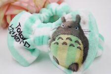Totoro dot Coral Velvet Bow Headband Makeup Wash Hair Band