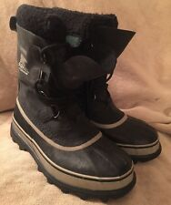 Sorel Caribou Black Stone Mens boots #1000-014 waterproof rated: -40° sz 7