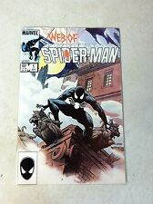 WEB OF SPIDER-MAN #1 VESS COVER, 5TH BLACK COSTUME, 1985, TIL DEATH DO US PART