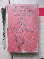 Riot at Altonbury by Anton Lind. Very Rare Book, Low low price, Acceptable Cond.