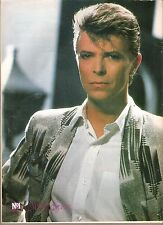 DAVID BOWIE grey jacket  magazine PHOTO/ Poster/clipping 11x8 inches