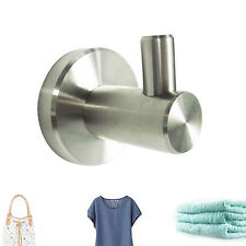 304 Brushed Nickel Stainless Steel Robe Hat Bag Coat Hook Wall-Mounted Hanger