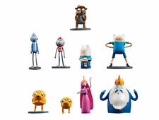 9 ADVENTURE TIME FIGURINES Rerular Show Figures cake cupcake Topper Party Favors