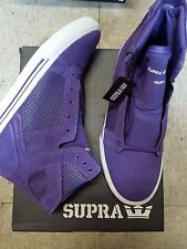 SUPRA SKYTOP PURPLE WHITE KID SHOES SIZE US 5 UK 4 EU 37 NEW IN BOX