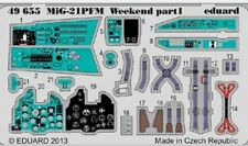 EDUARD MODELS 1/48 Aircraft- MiG21PFM Weekend for EDU (Painted) EDU49655