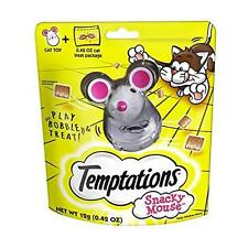TEMPTATIONS SNACKY MOUSE Cat Toy for Cat Treats New
