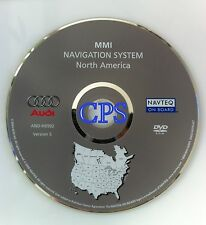 2005 2006 AUDI A6 S6 RS6 AVANT QUATTRO WAGON MMI NAVIGATION MAP DISC CD DVD OEM