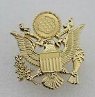 WWII US ARMY OFFICER CAP EAGLE BADGE INSIGNIA