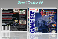 """Boitier du jeu """"CASTLEVANIA LEGENDS"""", Game Boy. PAL FR. HD. SANS LE JEU."""