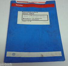 Reparatiebrochure Werkstatthb. VW Sharan 4-cil. Dieselmotor mechanisch ab 1996