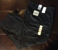 NWT Dockers Standard Collection Easy Khakis Black Pleated Men's Size 35 X 32