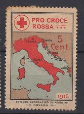ERINNOFILO PRO CROCE ROSSA 1915