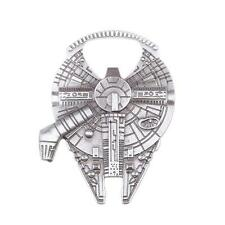 Star Wars Millennium Falcon Metal Bottle Opener Creative Silver Gray hot