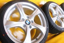 4x NEU 18 Zoll Alufelgen für BMW 3er E90 E91 E92 F30 F31 Winterräder silber !!!!