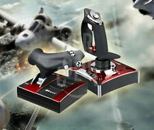 Flight Stick Control Simulator Gamepad Joystick Controller Gaming For Computer