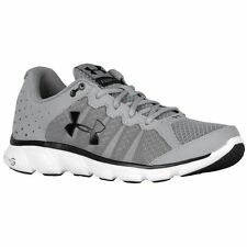 Under Armour Men's Micro G Assert 6 Shoes Steel/White 9.5