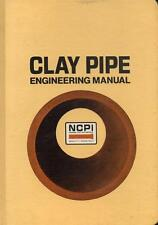 Clay Pipe Engineering Manual NCPI Drainage Sewer Rigid Conduits Roadway 1978