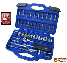 "Blue Spot Tools - 1/4"" Socket Set, Metric, Ratchet, Torx Bits, Screwdriver Bits"