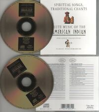 Spiritual Songs, Traditional Chants & Flute Music Of The American Ind 2 CDs 1997
