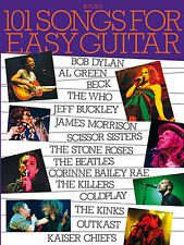 101 Songs For Easy Guitar - Book 6 Learn to Play Piano Guitar Lyrics Music Book