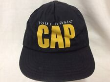 trucker hat baseball cap Your Basic Cap retro vintage nice cool quality rave