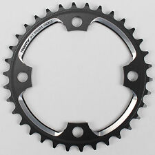 Truvativ Mountain Bike Chainring 34T 9/10 Speed Aluminum Black 104 BCD