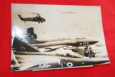 AVIATION  MARINE PORTE AVIONS EAGLE SILVER TOWER  PHOTO DE PRESSE  1968  MD231