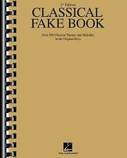 Classical Fake Book, Second Edition (Fake Books) by Hal Leonard Corp.