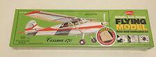 Guillows G302 Balsa & Tissue Cessna 170 Flying Aircraft Model Kit, NIB