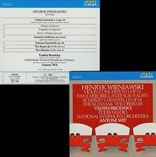WIENIAWSKI  violin cocerto no. 1 , fantaisie VADIM BRODSKY , ANTONI WITT