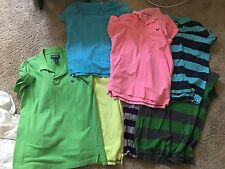 Lot of Men's Polo Shirts L (American Eagle, Hollister, Old Navy)