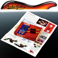 LUXE 1960-1970 abbinate Coppia di LUXE.022 MF Black Beauty condensatori (lx11015)