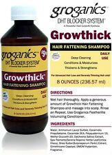 DHT BLOCKER GROGANICS GROWTHICK DHT SYSTEM HAIR FATTENING SHAMPOO 236ml