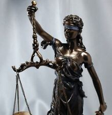 "31"" Scales of Justice Lawyer Statue Attorney Judge GIFT"