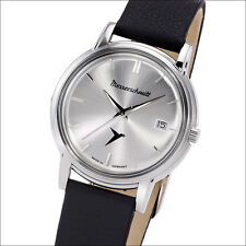 Aristo Messerschmitt Silver Special Edition Swiss Quartz Dress Watch #KR200-SS