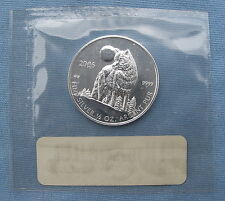 2006 Canada Timber Wolf .9999 Silver 1/2 oz Coin/Round *Sealed* ($1, Canadian)