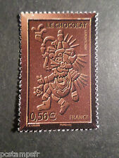 FRANCE 2009, timbre 4358, CHOCOLAT PERSONNAGE ATZEQUE neuf** MNH STAMP CHOCOLATE