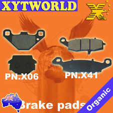 FRONT REAR Brake Pads for Kawasaki KLR 650 C1-C10 1995-2004