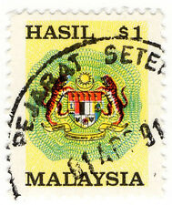 (I.B) Malaysia Revenue : Duty Stamp $1 (small format)
