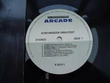 SYNTHESIZER GREATEST 1990 16 TRACK LP VINYL