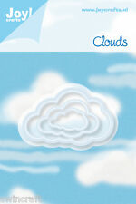 JOY CRAFTS CLOUDS Die Cutting Stencil Set of 3 dies - CLOUDS - 6002/0199