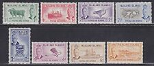 Falkland Is Scott #'s 107-120 VF set never hinged nice colors cv $ 200