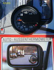 Car Ice Alert Side Mirror Thermometer dia 48mm NEW