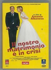 cofanetto+DVD Nuovo sigillato film-IL NOSTRO MATRIMONIO E' IN CRISI A. ALBANESE