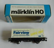 Marklin HO Advertising Fairview New Homes Plc Train Wagon