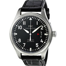 IWC Pilots Mark XVII Black Alligator Mens Watch