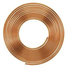 Soft Copper Pipe Copper Pancake Coil, Outer Diameter -  1/4 '' x 25 swg, 1 pcs