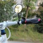1pc Bike Bicycle Handlebar Flexible Rear Back View Rearview Mirror Black QT