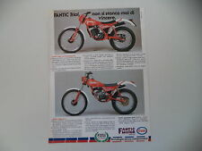 advertising Pubblicità 1983 MOTO FANTIC TRIAL 240 PROFESSIONAL/TRIAL 50